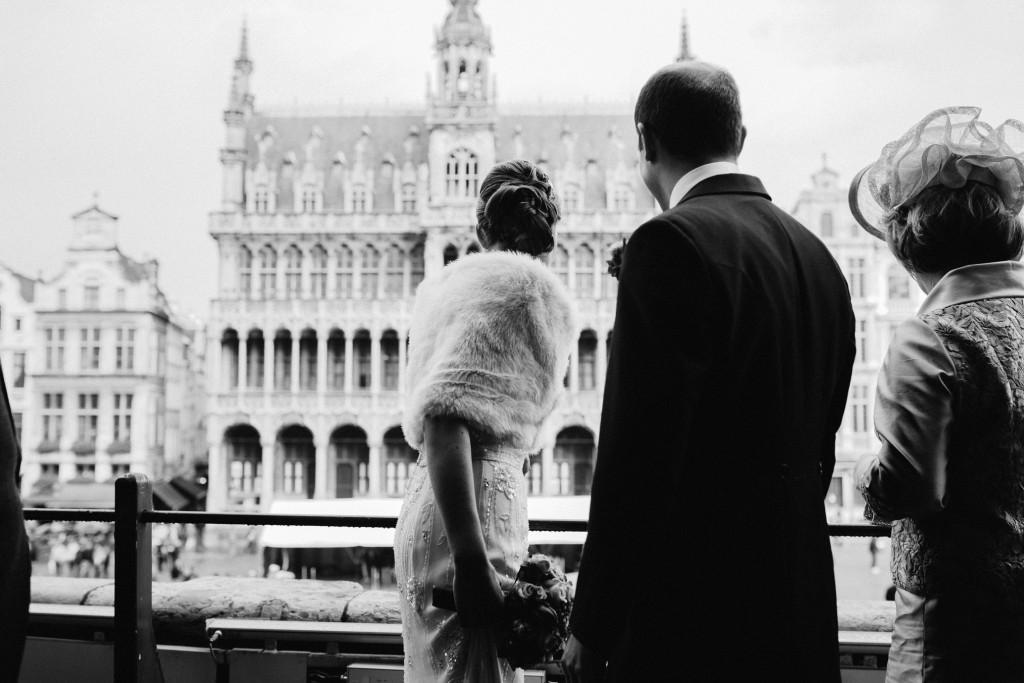 Winter Wedding of Jozef & Emilie Maes in Belgium
