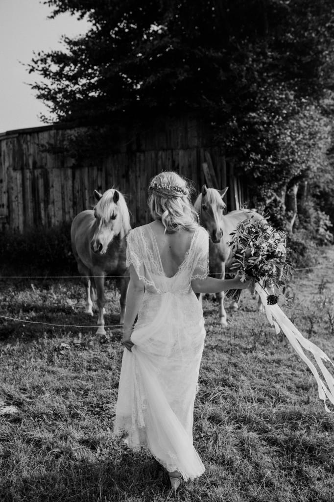 Bohemian Wedding of Erwin & Suzanne van de zande in Belgium