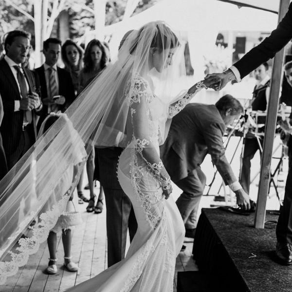 Jewish wedding Floor & Roos