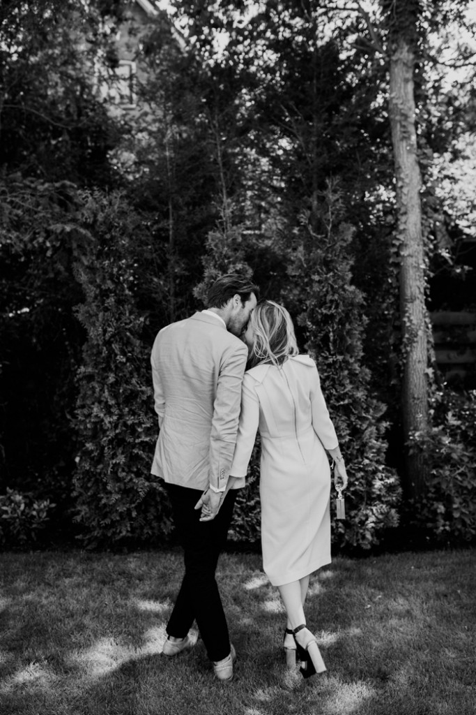 The intimate small wedding of Nina Pierson & Jop de graaf in the Netherlands