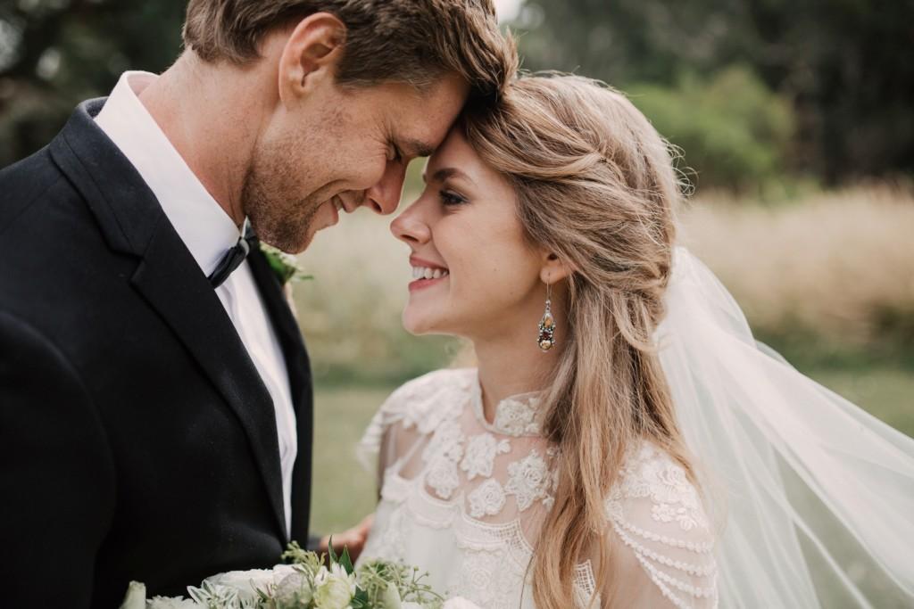 Bohemian Wedding of Ben & Elle Hugh in Sydney