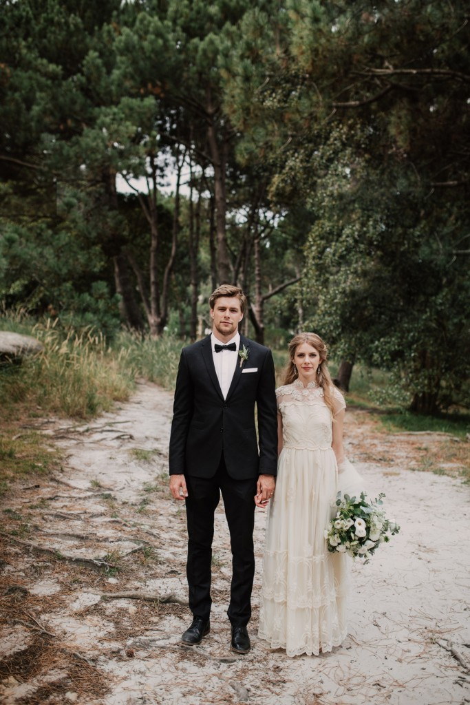 Bohemian Wedding of Ben & Elle Hugh in Sydney