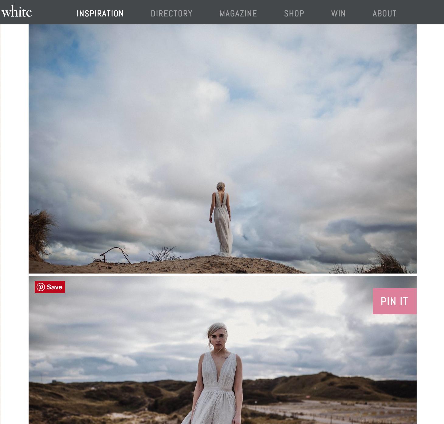 white magazine alice mahran
