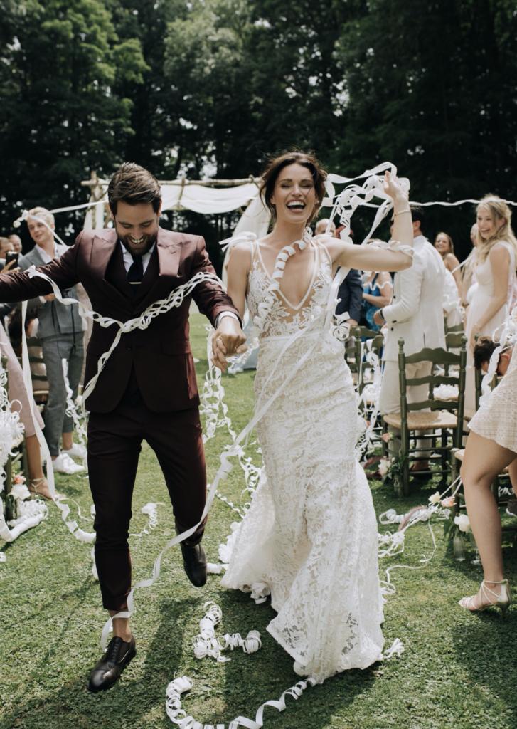 Wedding of Viviane Marissa Francesca & Oscar Marmelstein at Ter Leyen Castle