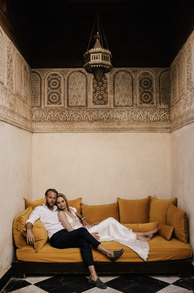 Wedding of Axel & Sammie at el fenn in marrakech
